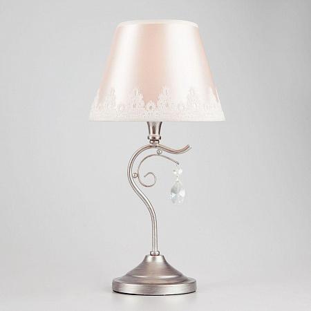 Настольная лампа Eurosvet Incanto 01022/1 серебро