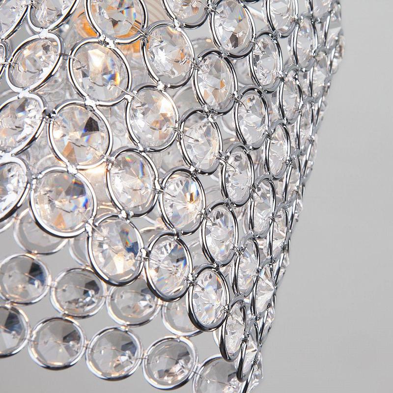 Подвесной светильник Eurosvet Mirage 50068/1 хром
