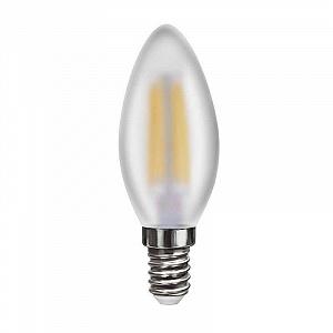 Лампа светодиодная E14 6W 4000К свеча матовая VG10-C2E14cold6W-F 7045