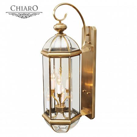 Уличный настенный светильник Chiaro Мидос 802020606