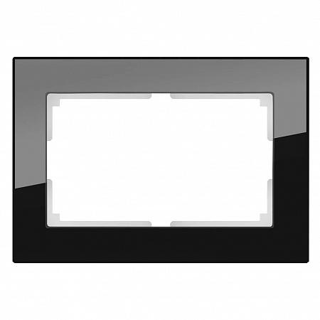 Рамка Favorit для двойной розетки черный WL01-Frame-01-DBL 4690389117220