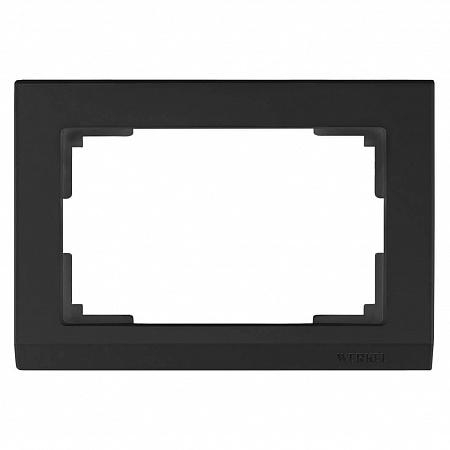 Рамка Stark для двойной розетки черный WL04-Frame-01-DBL-black 4690389117213