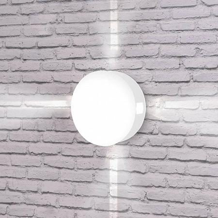 Уличный настенный светодиодный светильник Elektrostandard 1545 Techno LED Beam белый 4690389121647