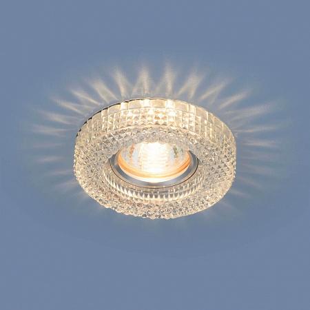 Встраиваемый светильник Elektrostandard 2213 MR16 CL прозрачный 4690389119491