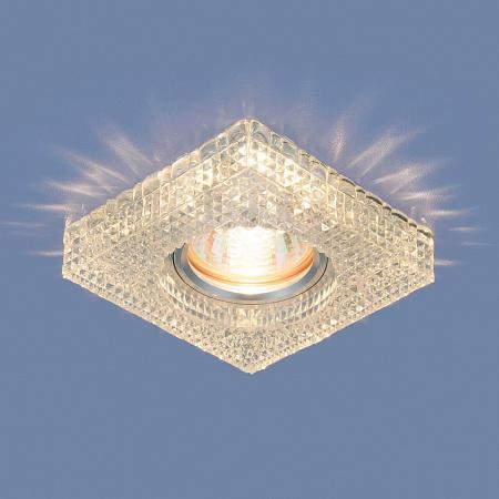 Встраиваемый светильник Elektrostandard 2214 MR16 CL прозрачный 4690389119507