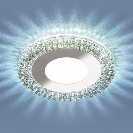 Встраиваемый светодиодный светильник Elektrostandard 9908 LED 8W CL прозрачный 4690389120329