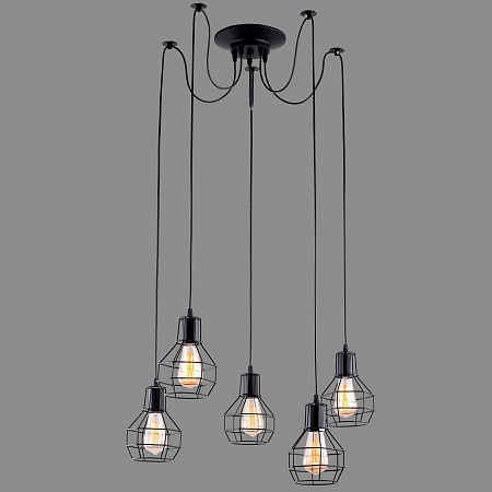 Подвесная люстра Arte Lamp A1109SP-5BK