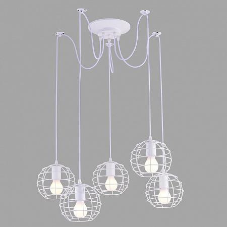 Подвесная люстра Arte Lamp A1110SP-5WH
