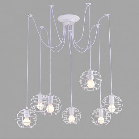 Подвесная люстра Arte Lamp A1110SP-7WH