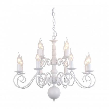 Подвесная люстра Arte Lamp A1129LM-12WH