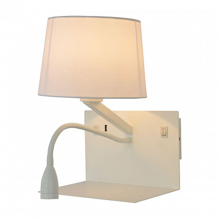 Бра Arte Lamp Ibis A1056AP-2WH