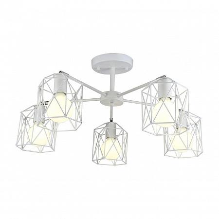 Потолочная люстра Arte Lamp A4284PL-5WH