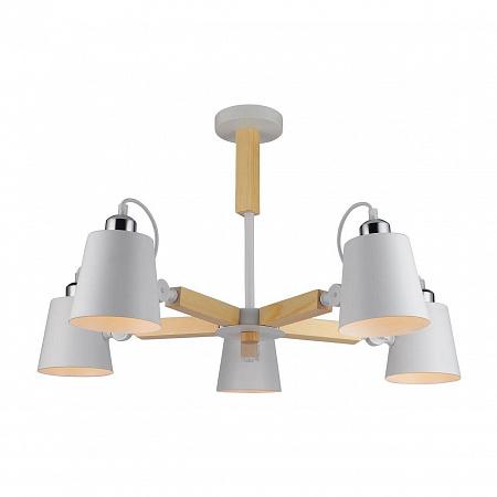 Потолочная люстра Arte Lamp A7141PL-5WH