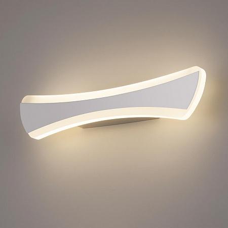 Настенный светодиодный светильник Elektrostandard Wave LED хром MRL LED 1090 4690389124242
