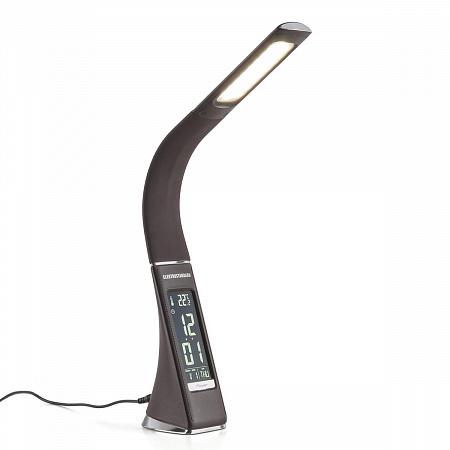 Настольная лампа Elektrostandard Elara коричневый 4690389102349