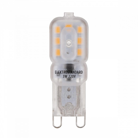 Лампа светодиодная G9 3W 4200K колба матовая 4690389085659