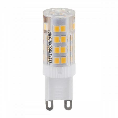 Лампа светодиодная G9 5W 4200K кукуруза прозрачная 4690389085673