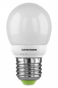 Лампа энергосберегающая Mini Globe E27 7W 4200К теплый 4690389017636