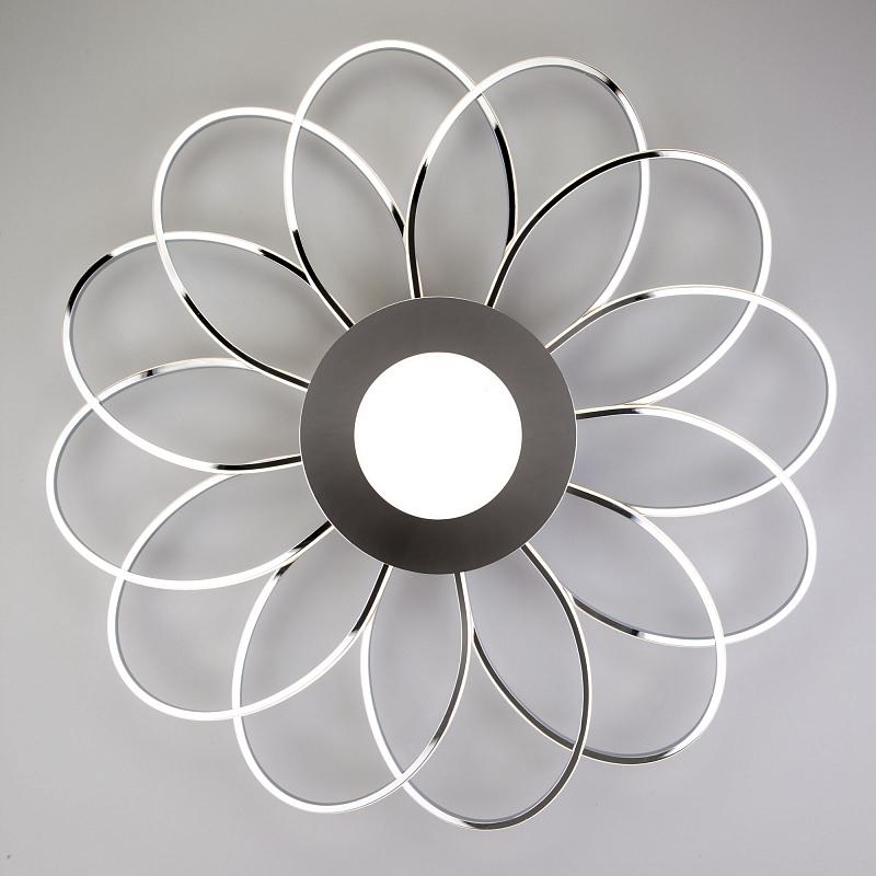 Потолочная светодиодная люстра Eurosvet Jenssen 90105/13 хром