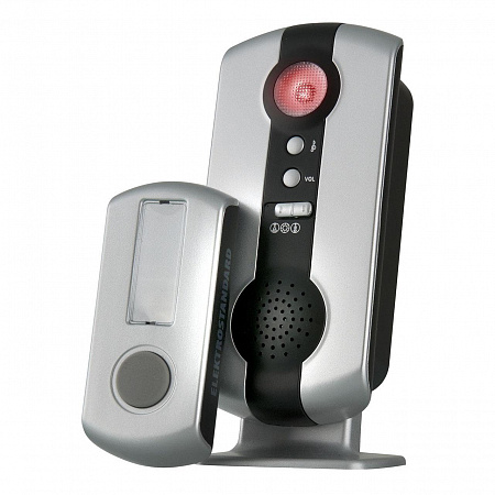 Звонок беспроводной Elektrostandard DBQ07M WL 36M IP44 серебряный 4690389031243