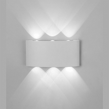 Уличный настенный светодиодный светильник Mantra Arcs 6541