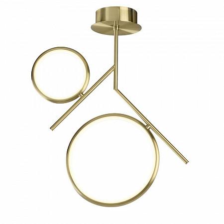 Подвесная светодиодная люстра Mantra Olimpia Oro 6582