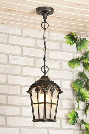 Уличный подвесной светильник Elektrostandard Mira 4690389017353