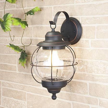 Уличный настенный светильник Elektrostandard Regul D 4690389064982