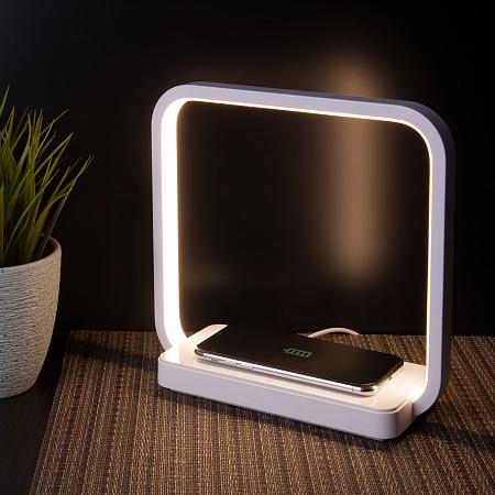 Настольная лампа Eurosvet Frame 80502/1 белый