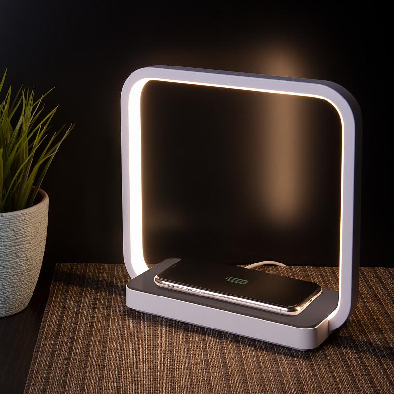Настольная лампа Eurosvet Frame 80502/1 коричневый