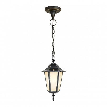 Уличный подвесной светильник Elektrostandard 1004H черное золото 4690389085703