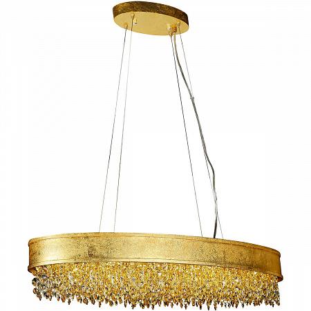 Подвесной светодиодный светильник Lucia Tucci Fabian 1550.17 Oro Led