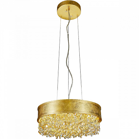 Подвесной светодиодный светильник Lucia Tucci Fabian 1551.12 Oro Led