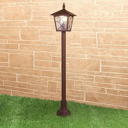 Уличный cветильник Elektrostandard Lyra F Брауни GL 1012F 4690389134234