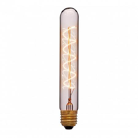 Лампа накаливания Sun Lumen E27 60W прозрачная 053-877