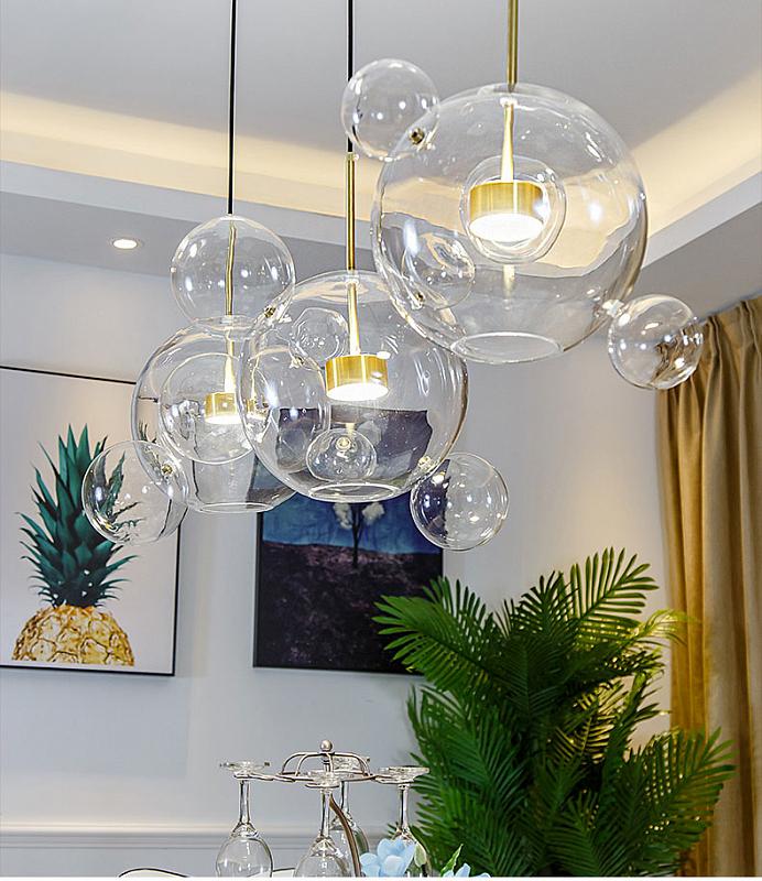 Подвесной светильник Odeon Light Bubbles 4640/12LA