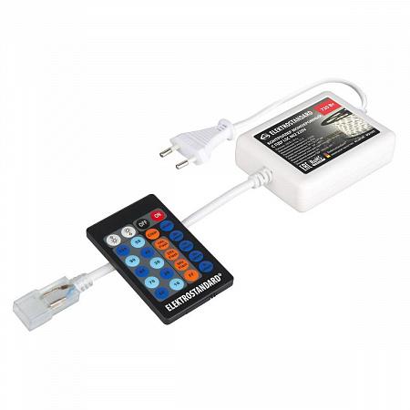 Контроллер для монохромных светодиодных лент с пультом ДУ Elektrostandard LSC 002 220V 4690389084713