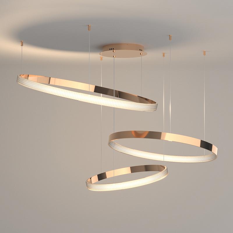 Подвесной светильник Eurosvet Posh 90175/3 медный