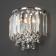 Настенный светильник Eurosvet Torreta 10105/2 хром/прозрачный хрусталь Strotskis