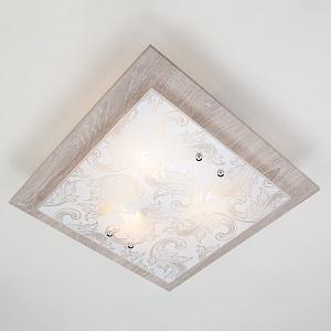 Потолочный светильник Eurosvet 2961/3 хром/серый