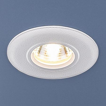 Встраиваемый светильник Elektrostandard 107 MR16 WH белый 4690389076220