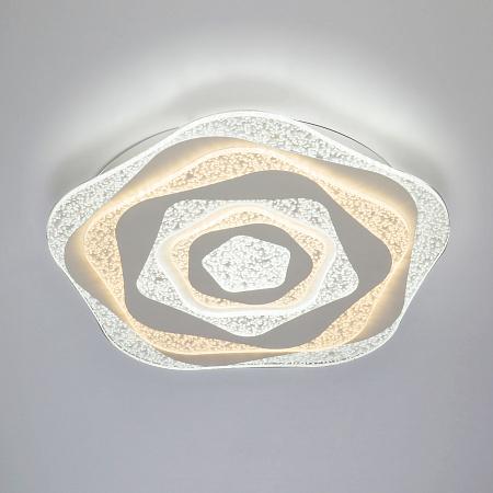 Потолочный светильник с пультом Eurosvet Puff 90162/1 Белый 150W