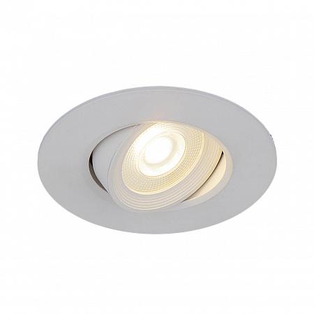 Встраиваемый светильник Elektrostandard 9914 LED 6W WH белый 4690389138652