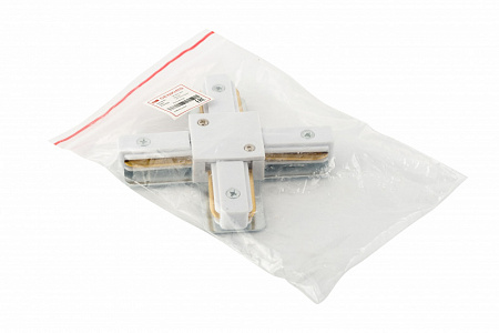 TR1104-WH Соединитель для шинопровода X-образный, белый
