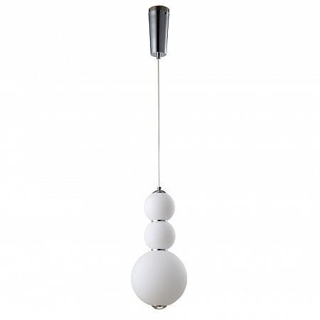 Подвесной светильник Crystal Lux Desi Desi SP3 Chrome/White