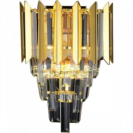 Настенный хрустальный светильник Stilfort Amman 1024/03/02W