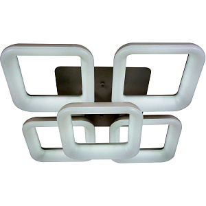 Светодиодная люстра с пультом ДУ Stilfort Cube 2086/01/05C