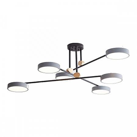Потолочная светодиодная люстра Kink Light Рапис 07647-6,16(4000K)