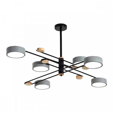 Потолочная светодиодная люстра Kink Light Рапис 07648-6,16