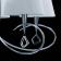 Подвесная люстра Mantra Mara Chrome - White 1640